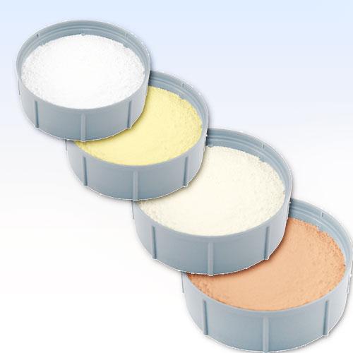 Coloured powders