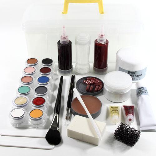 Casualty simulation makeup kit