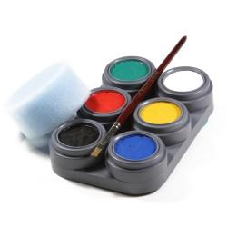 Face painting starter kit - 6 colours