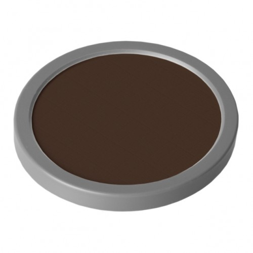 Grimas colour 1001 Dark Brown cake makeup 35g