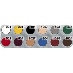 B cream makeup palette 12 shading colours