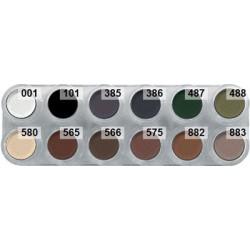 Grimas smokey shades eyeshadow palette UX