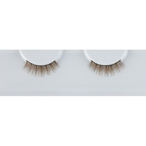 Eyelash Grimas 136 Sandra - narrow brown lashes