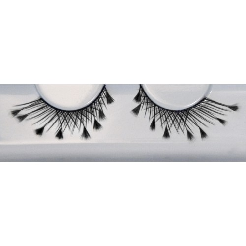 Eyelash Grimas 150 Dolly - criss-cross with feathers max 17mm