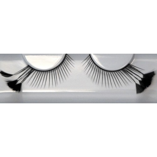 Eyelash Grimas 151 Deidre - thin with feathered wings max 22mm
