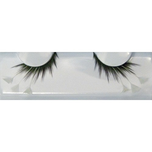 Eyelash Grimas 153 Felicity - with white feather wings max 25mm