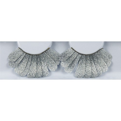 Eyelash Grimas 157 Marie - lush silver feather max 17mm