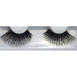 Eyelash Grimas 221 Tilly - very big shiny black max 24mm