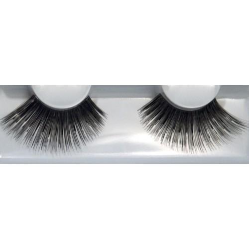 Eyelash Grimas 221 Tilly - very big shiny black max 24mm