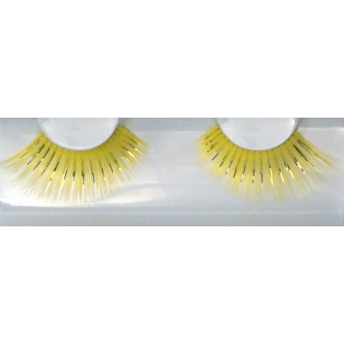 Eyelash Grimas 222 Twankey - yellow dame max 24mm