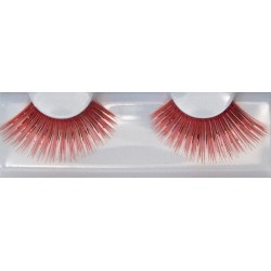 Eyelash Grimas 225 Scarlett - very big red max 22mm