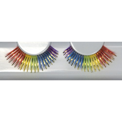 Eyelash Grimas 228 Amitola - big shiny rainbow max 16mm