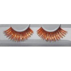 Eyelash Grimas 230 Ruby - big red and gold max 15mm