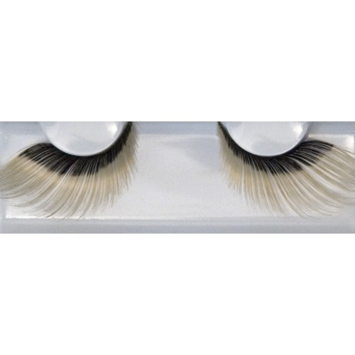 Eyelash Grimas 253 Amanda - bi-colour soft swirls max 26mm