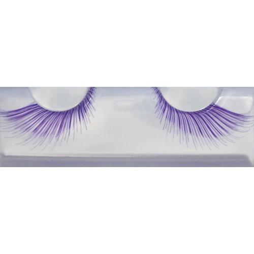 Eyelash Grimas 255 Anika - soft purple swirls max 24mm