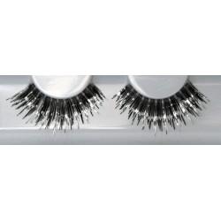 Eyelash Grimas 262 Charlotte - spiky black and silver max 17mm