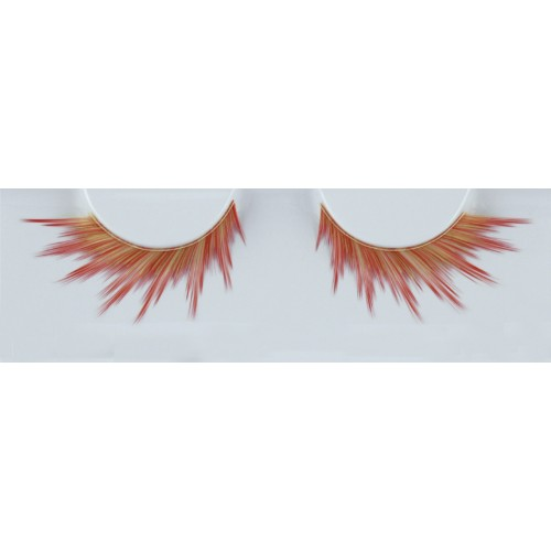 Eyelash Grimas 266 Foxy - red and black with a hint of white