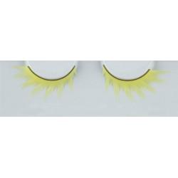 Eyelash Grimas 268 Katniss - neon yellow swirled fire