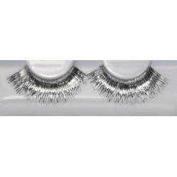 Eyelash Grimas 271 Danielle - metallic silver max 15mm