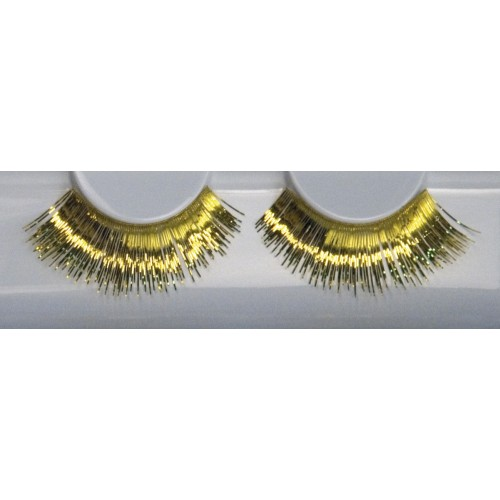 Eyelash Grimas 272 Debra - metallic gold max 16mm