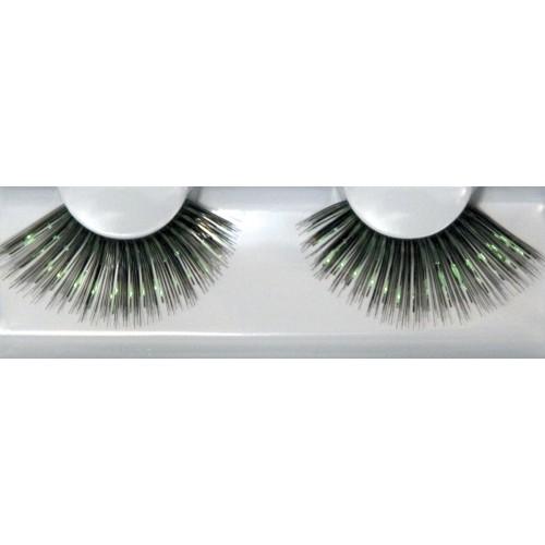 Eyelash Grimas 284 Frances - big black and green max 24mm