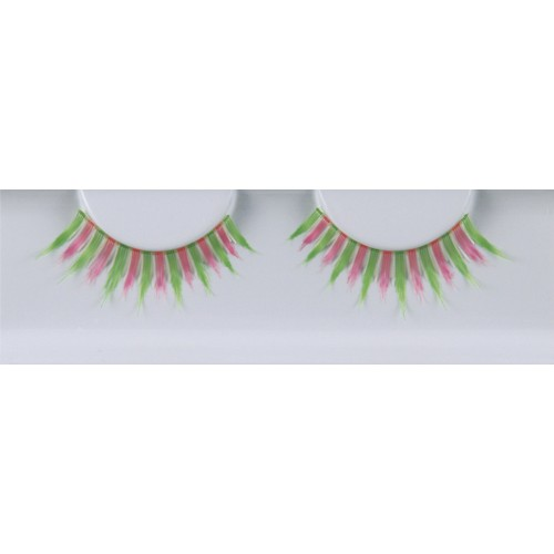 Eyelash Grimas 288 Glynda - pink and green max 13mm