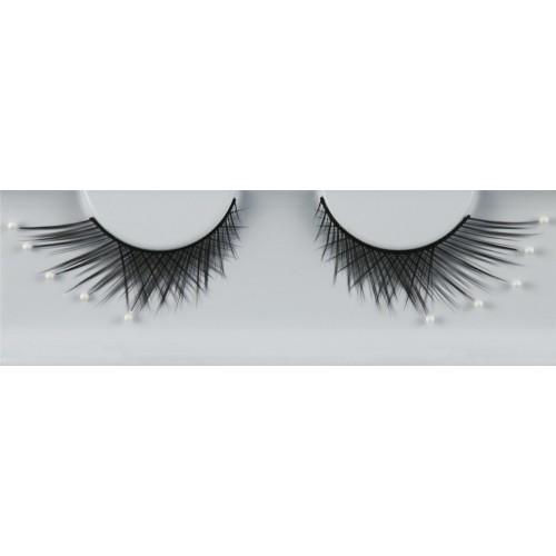 Eyelash Grimas 307 Katie - criss-cross swirls with pearls max 15mm