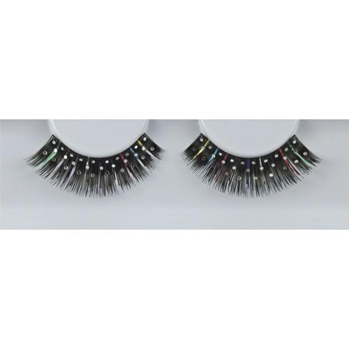 Eyelash Grimas 309 Jay - speckled black max 12mm