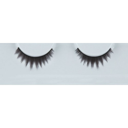 Eyelash Grimas 312 Ebony - delicate feathered black points