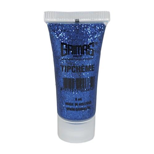 Grimas 031 blue glitter tip cream makeup 10ml