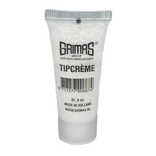 Grimas 05 red pearl glitter tip cream makeup 10ml