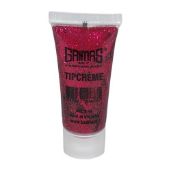 051 deep pink glitter tip cream makeup 10ml