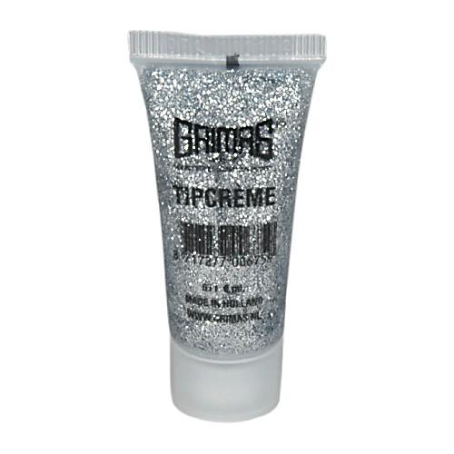 Grimas 071 silver glitter tip cream makeup 10ml