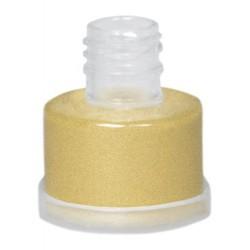 Grimas light gold high gloss pearlescent powder 7g colour 722