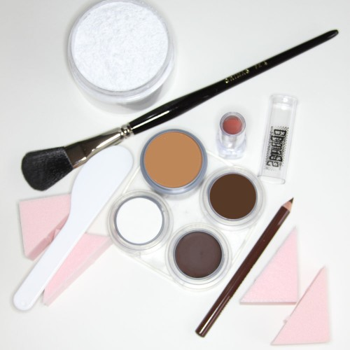 Beginners Please cream stage makeup kit - white male