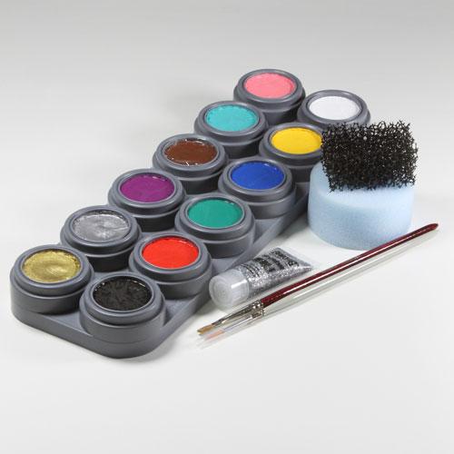 Face painters starter kit 2 - 12 colours