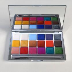 Kryolan Shimmering Vision Palette 18 interferenz colours