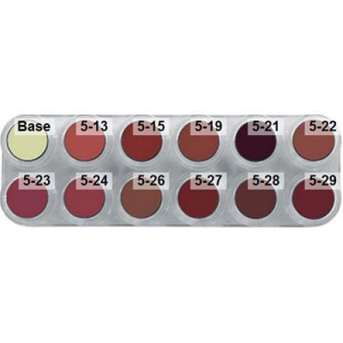 Lipstick LB 12 colour palette