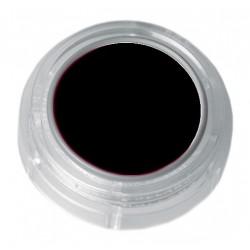 Deep black lipstick in a 2.5ml pot - colour code 1-01
