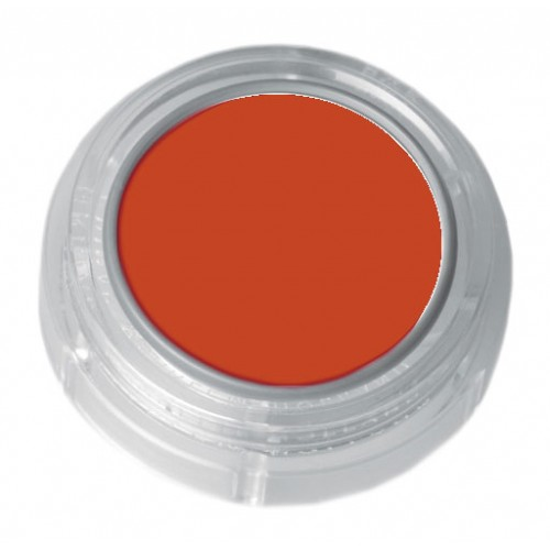 Grimas light orange lipstick in a 2.5ml pot - colour code 5-12