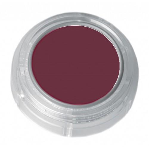 Grimas violet red lipstick in a 2.5ml pot - colour code 5-17