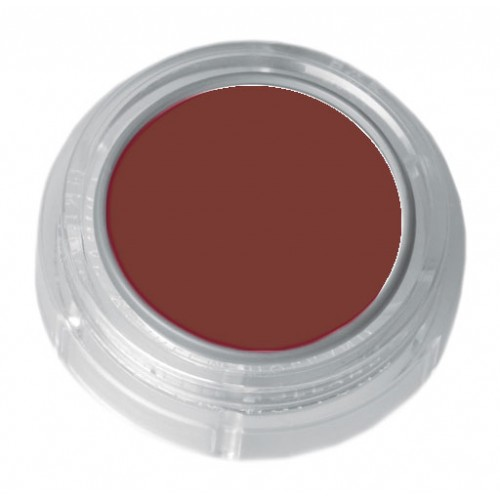 Grimas light brick red lipstick in a 2.5ml pot - colour code 5-19