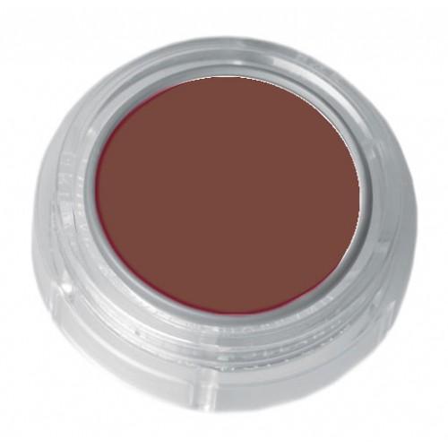 Grimas brown lipstick in a 2.5ml pot - colour code 5-26