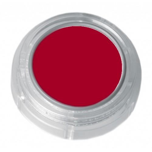 Grimas orange red lipstick in a 2.5ml pot - colour code 5-30