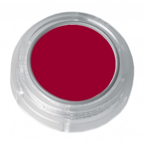 Grimas deep red lipstick in a 2.5ml pot - colour code 5-31