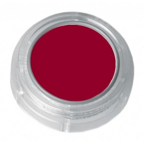 Grimas dark red lipstick in a 2.5ml pot - colour code 5-05