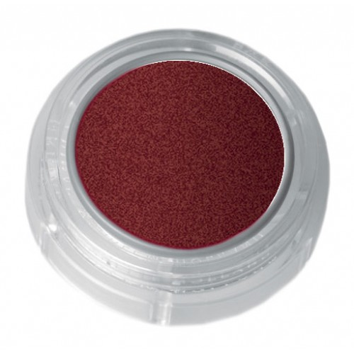 Grimas red brown pearl lipstick in a 2.5ml pot - colour code 7-55