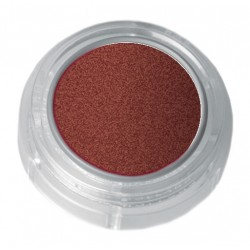 Rust brown pearl lipstick in a 2.5ml pot - colour code 7-82