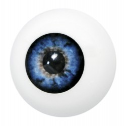 Artificial eye blue