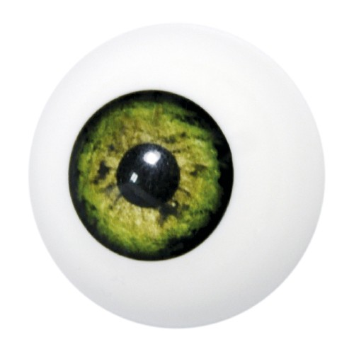 Artificial eye green